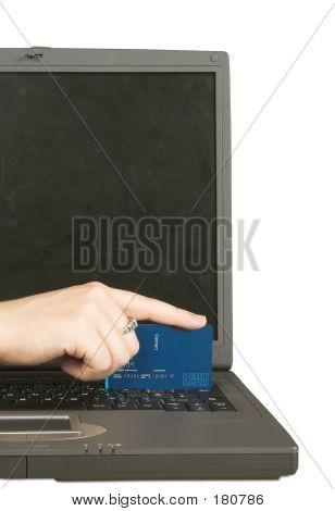 Cartão de crédito pagamento on-line