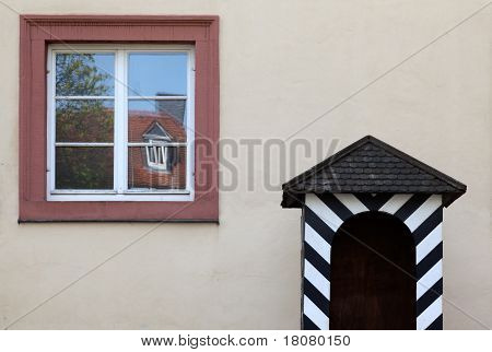 Castle Guradhouse And Window