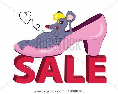 Shoe Mouse Sale
