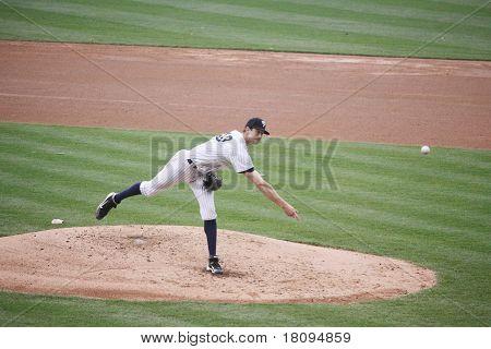 Scranton Wilkes-Barre Yankees pitcher Andrew Brackman