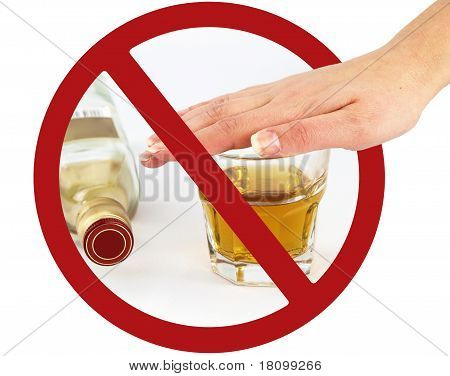 No Drink Sign