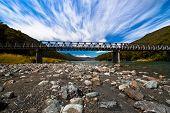 Long Alpine Bridge