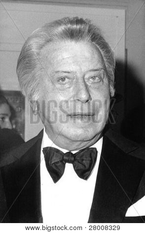 LONDON-APRIL 20: Lord Bernard Delfont, British theater impresario, attends a celebrity event on April 20, 1989. He died in 1994.