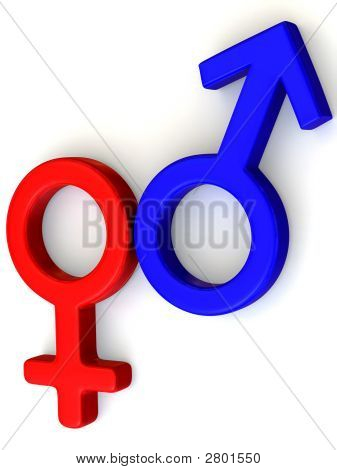 Symbol Men And Women. Love
