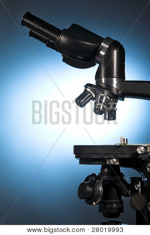 close up photo of a microscope
