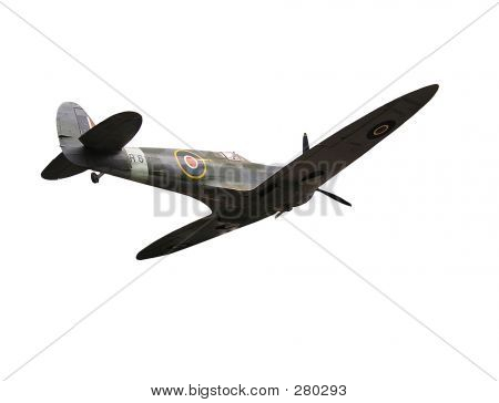 Spitfire Side View