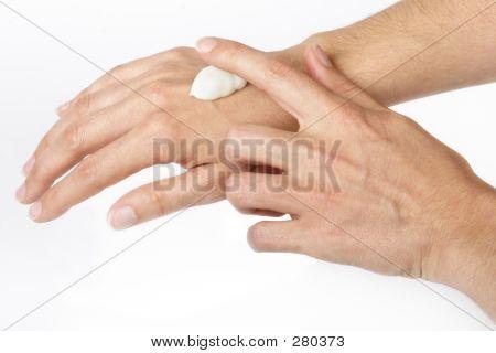 Cream Hands