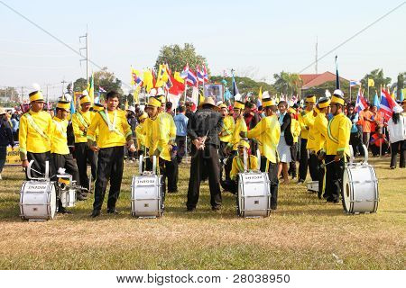 Paraders In Local Sports Festival Season