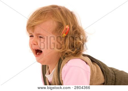 Desperately Crying Toddler