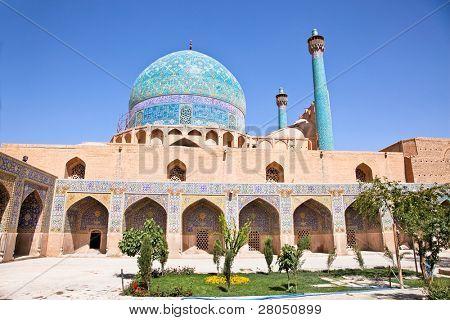 Beautiful Jame Abbasi mosque (Imam mosque) , Esfahan, Isfahan, Iran