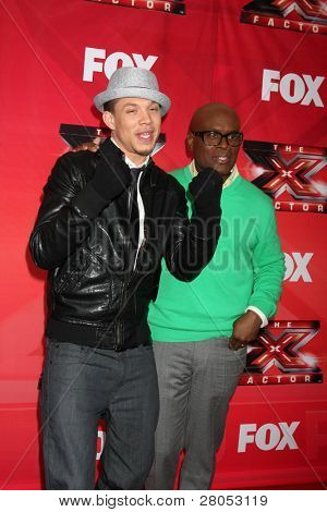 LOS ANGELES - DEC 19:  Chris Rene, L.A. Reid at the FOX's