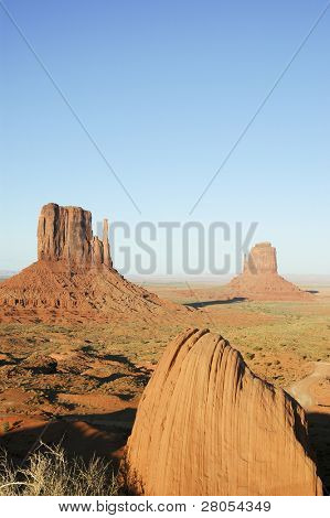 West and East Mitten Buttes