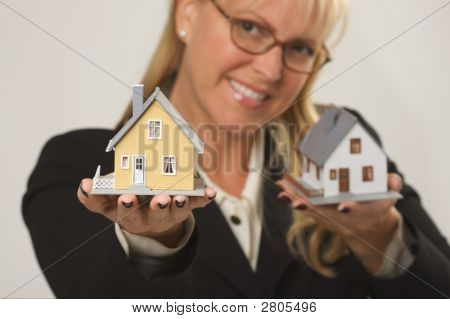 Houses In Female Hands