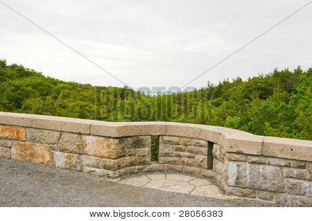 rock guardrail