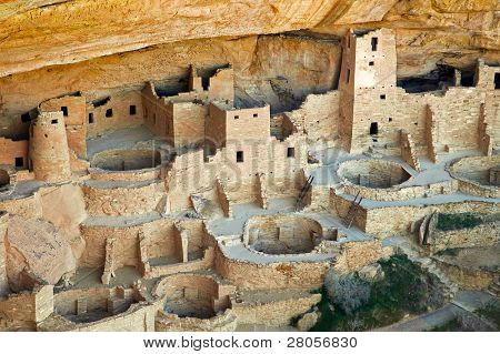 Cliff Palace native american indian ruins