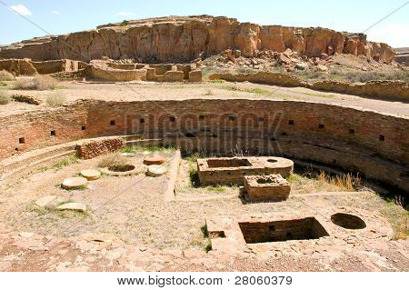 Great Kiva at Chetro Ketl