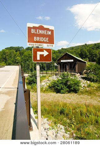 Old Blenheim Covered Bridge