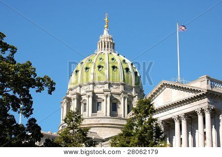 Pennsylvania State Capital building