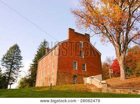 Washington Tavern at Fort Necessity National Battlefield
