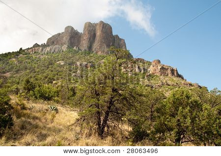 Chisos Mountains peak