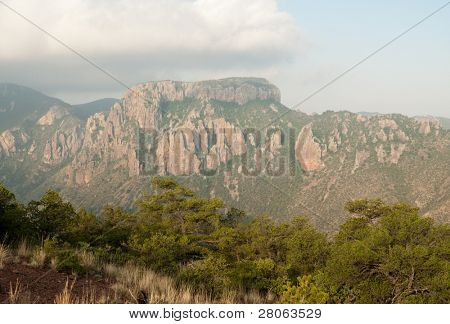 Chicos Mountains cliffs