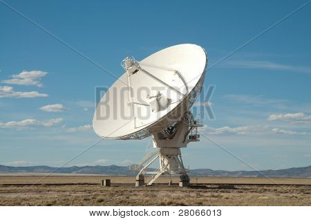 radio astronomy dish at the Very Large Array
