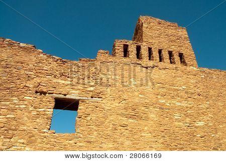 Ruinas de la misión de Quaraí en Monumento Nacional Salinas Pueblo misiones