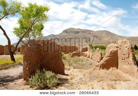 Fort Selden ruins