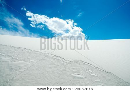 sand dune hills