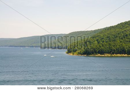 Allegheny National Forest and reservior