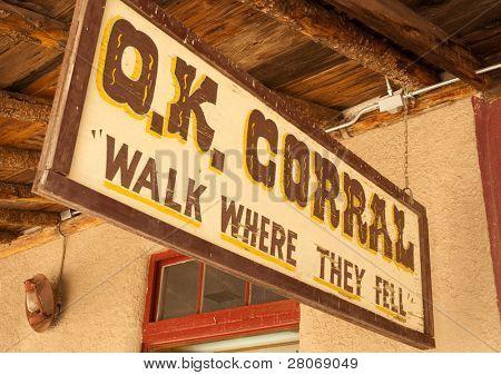 the O.K. Corral