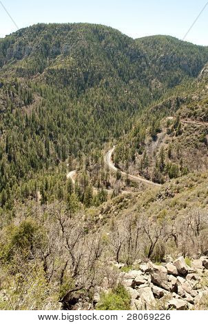 Oak Creek Canyon Scenic View Area