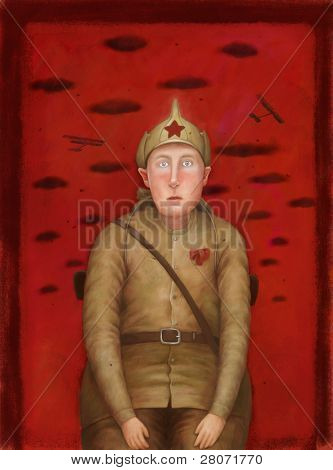 Red Army man