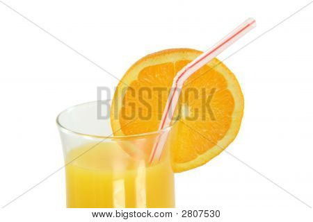 Orange Juice With Path