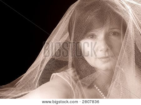 Lady In Gauze