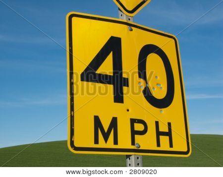 40 Mph Target Practice