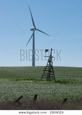 Windmills Old and