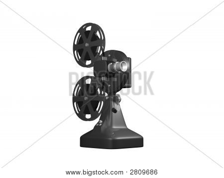 Grey Film Projector