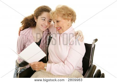 Greeting For Grandma