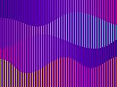Liquid Wave, Violet Gradient. Modern Trend Background. Synthwave, Futurism Background. Retrowave. Ve poster