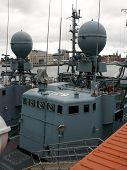 picture of labo  - portrait of german navy ship in ocean - JPG