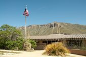 picture of stagecoach  - mckittrick canyon visitor center - JPG