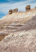 picture of paleozoic  - blue mesa hills - JPG