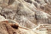 image of paleozoic  - desert badlands - JPG