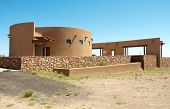 stock photo of unexplained  - Marfa ghost lights roadside rest stop - JPG