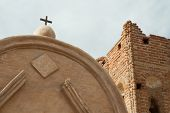 picture of 1700s  - historic spanish mission ruins at Tumac - JPG
