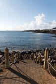 stock photo of papagayo  - Playa Papagayo Beach - JPG