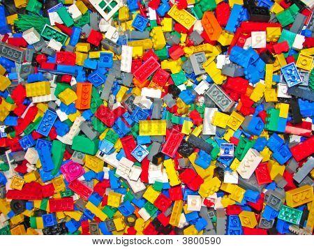 Multi-Coloured Blocks Background