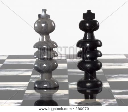 Chess Pieces - King And King