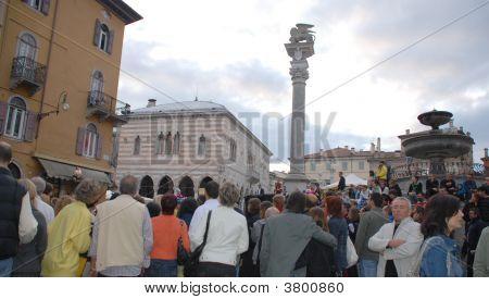 Crowds At Friuli Doc, Udine